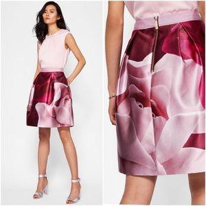Ted Baker Porcelain Rose full skirt